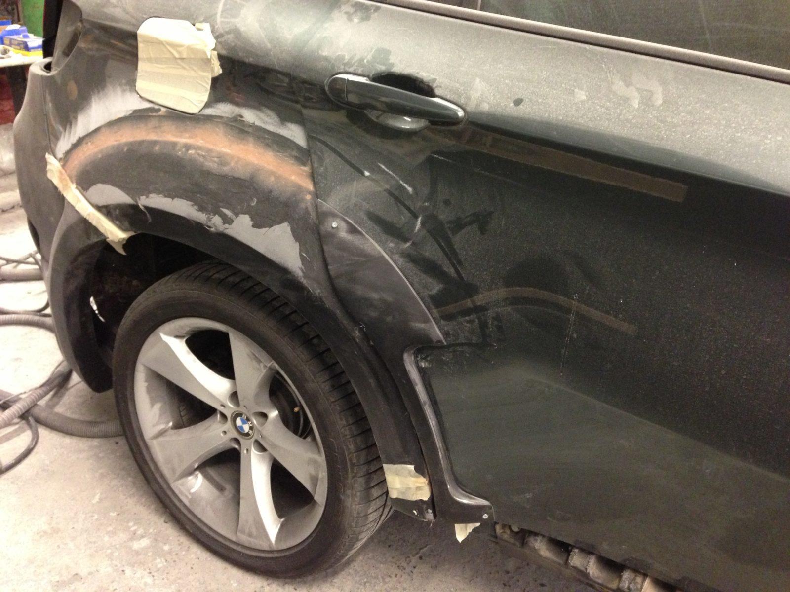 BMW X6 Lumma Bodykit 2012