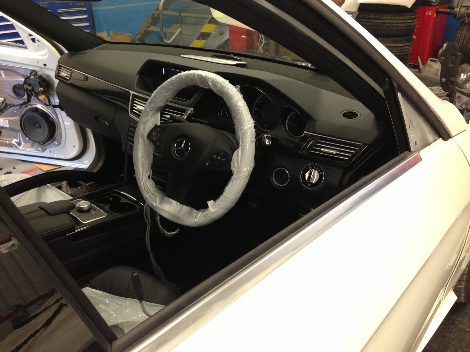 Mercedes E63 AMG Bodykit 2013