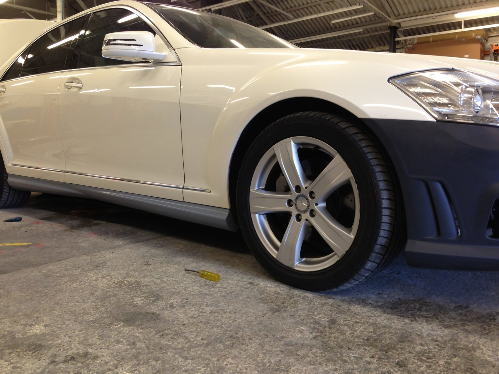 Mercedes SL65 AMG Black Series Bodykit 2013
